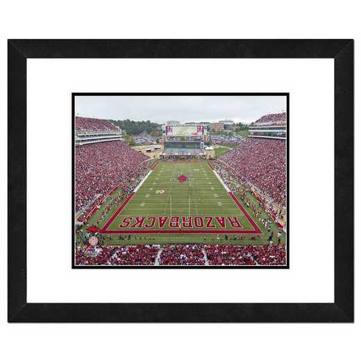 AAPK140-FH20x24: PF Razorbacks Stadium Univ of Arkansas Razorbacks- 22x26