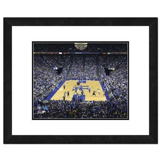 AAQK086-FH20x24: PF Rupp Arena University of Kentucky Wildcats- 22x26