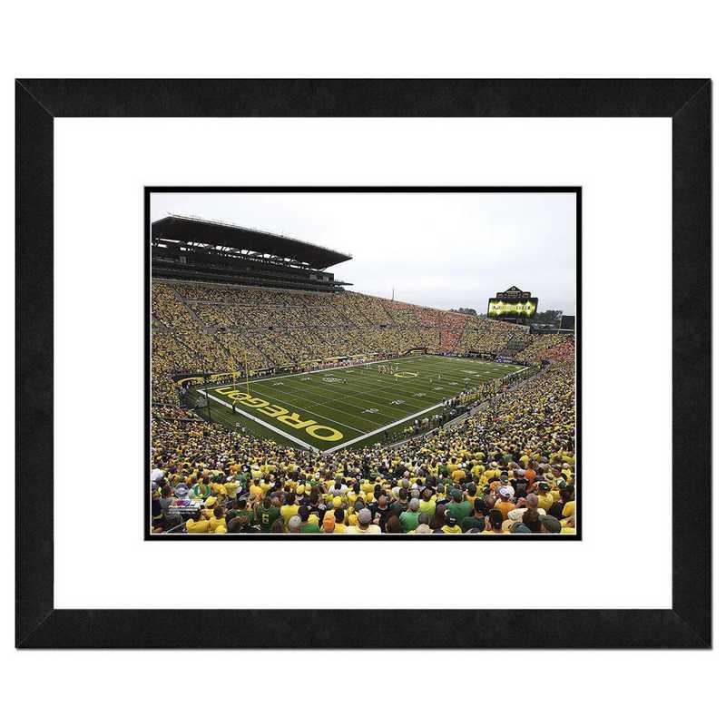 AAQK091-FH20x24: PF Autzen Stadium University of Oregon Ducks- 22x26