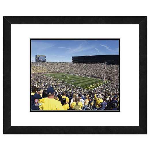 AAQK102-FH20x24: PF Michigan Stadium University of Michigan Wolverines- 22x26