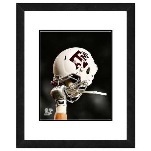 AAQX042-FH20x24: PF Texas A&M Aggies Helmet Spotlight- 22x26