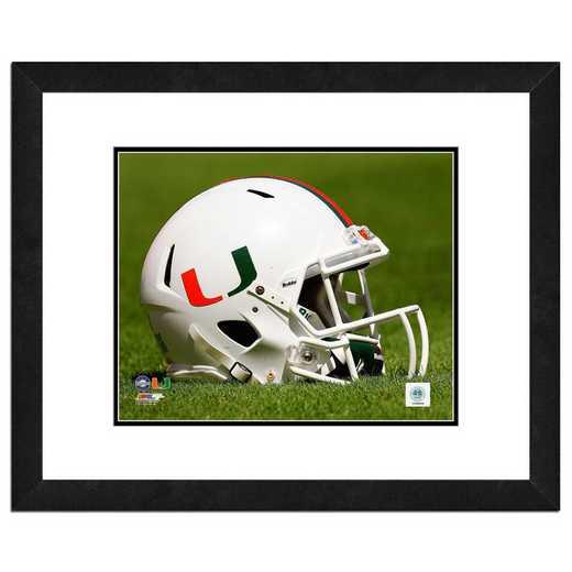 AARM161-FH20x24: PF University of Miami Hurricanes Helmet- 22x26