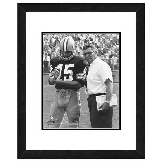 AAMM071-FH16x20: PF Vince Lombardi & Bart Starr Photography, 18x22