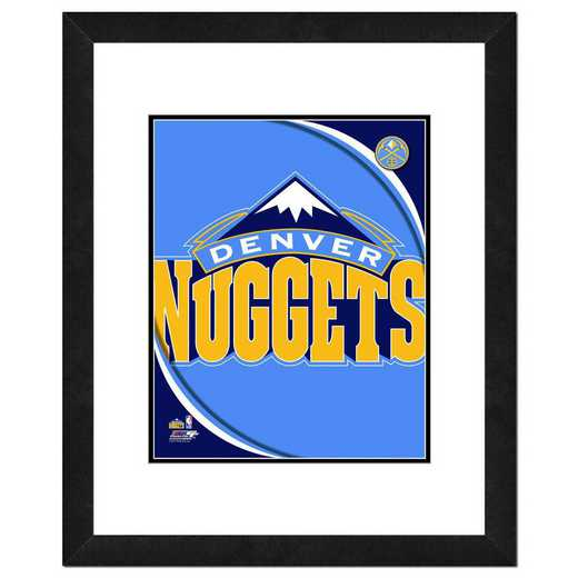 AANP187-FH16x20: PF Denver Nuggets Logo Photography, 18x22