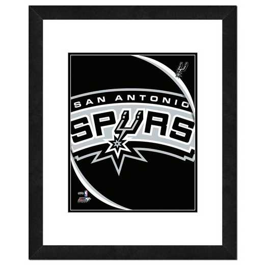 AANP191-FH16x20: PF San Antonio Spurs Logo Photography, 18x22
