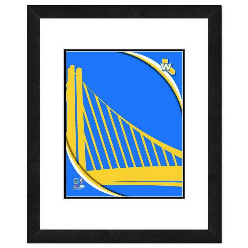 AANP195-FH16x20: PF Golden State Warriors Logo Photography, 18x22