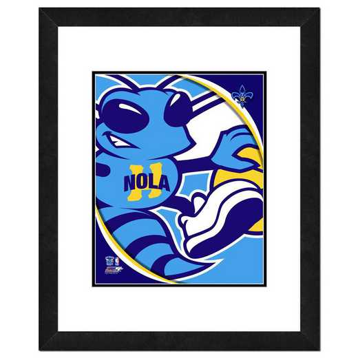 AANP197-FH16x20: PF New Orleans Pelicans Logo Photography, 18x22