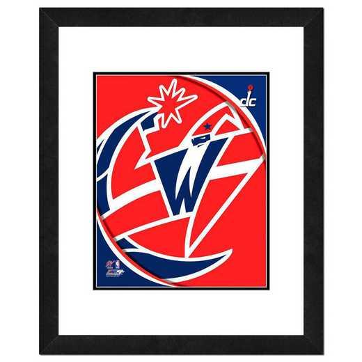 AANP203-FH16x20: PF Washington Wizards Logo Photography, 18x22