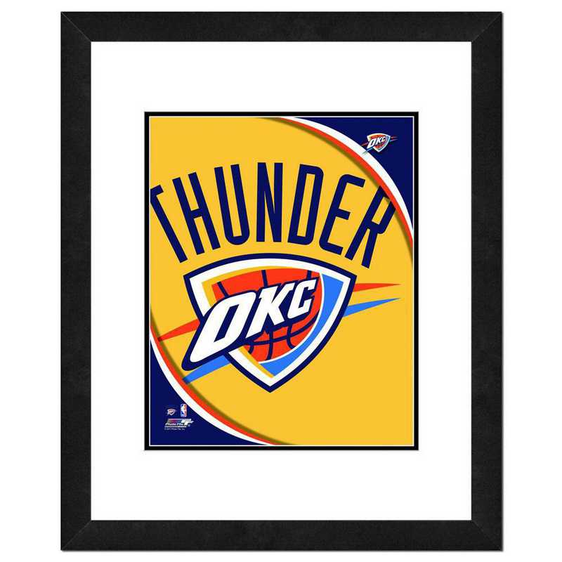 AANP207-FH16x20: PF Oklahoma City Thunder Logo Photography, 18x22