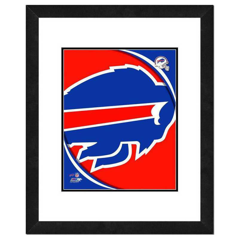 AANR054-FH16x20: PF Buffalo Bills Team Logo Photography, 18x22