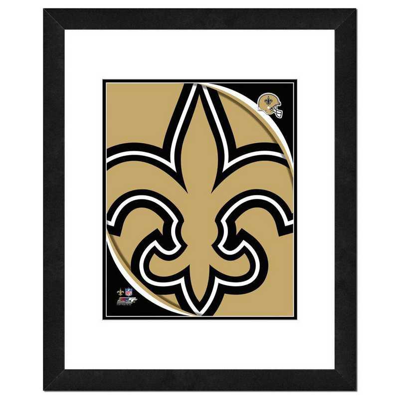 AANR058-FH16x20: PF New Orleans Saints Logo Photography, 18x22
