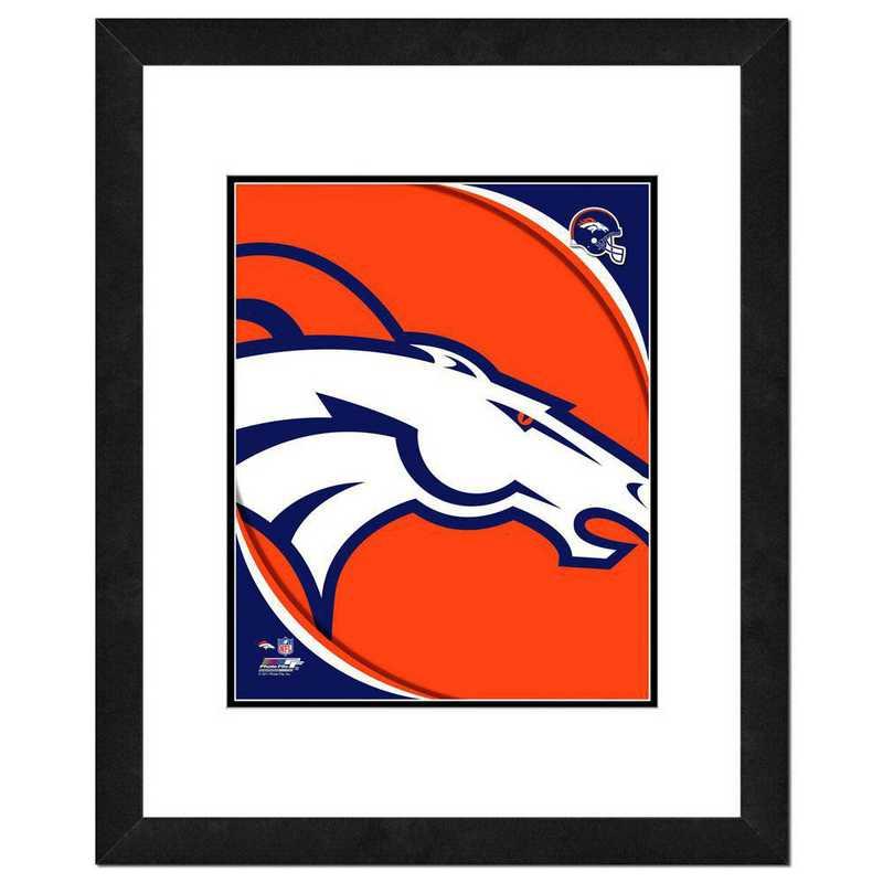 AANR065-FH16x20: PF Denver Broncos Team Logo Photography, 18x22