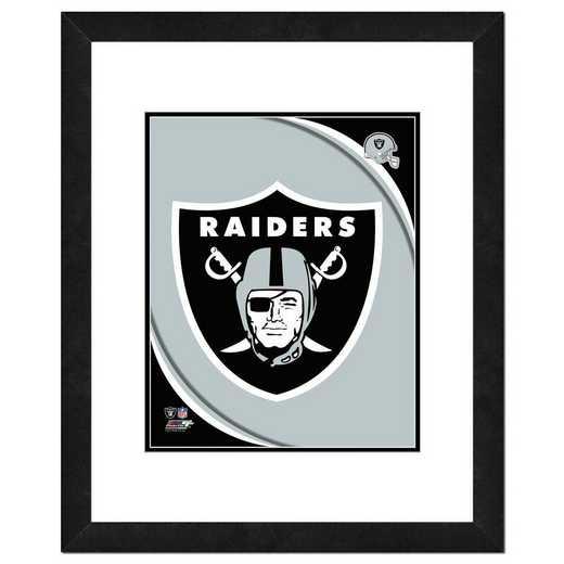AANR066-FH16x20: PF Oakland Raiders Team Logo Photography, 18x22