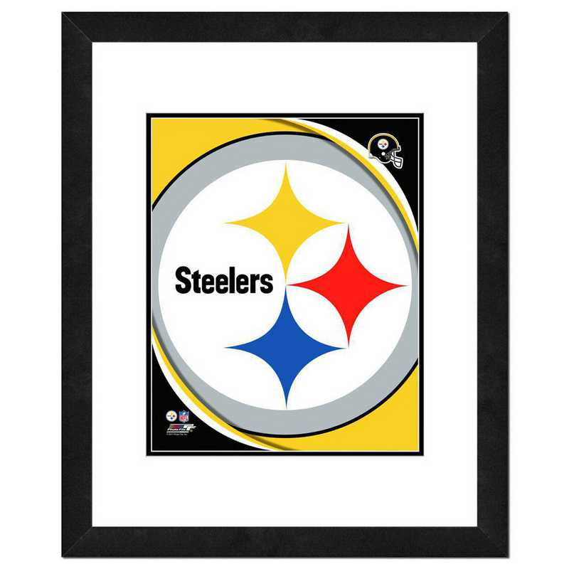 AANR067-FH16x20: PF Pittsburgh Steelers Logo Photography, 18x22