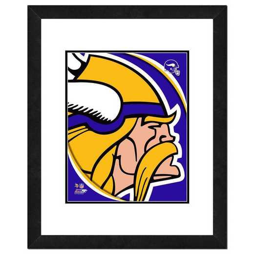 AANR068-FH16x20: PF Minnesota Vikings Logo Photography, 18x22