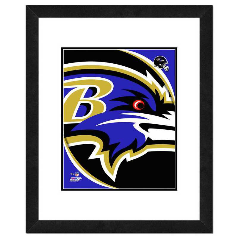 AANR073-FH16x20: PF Baltimore Ravens Team Logo Photography, 18x22