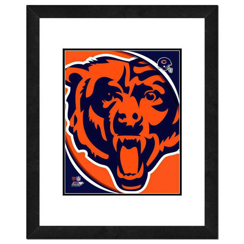 AANR075-FH16x20: PF Chicago Bears Team Logo Photography, 18x22