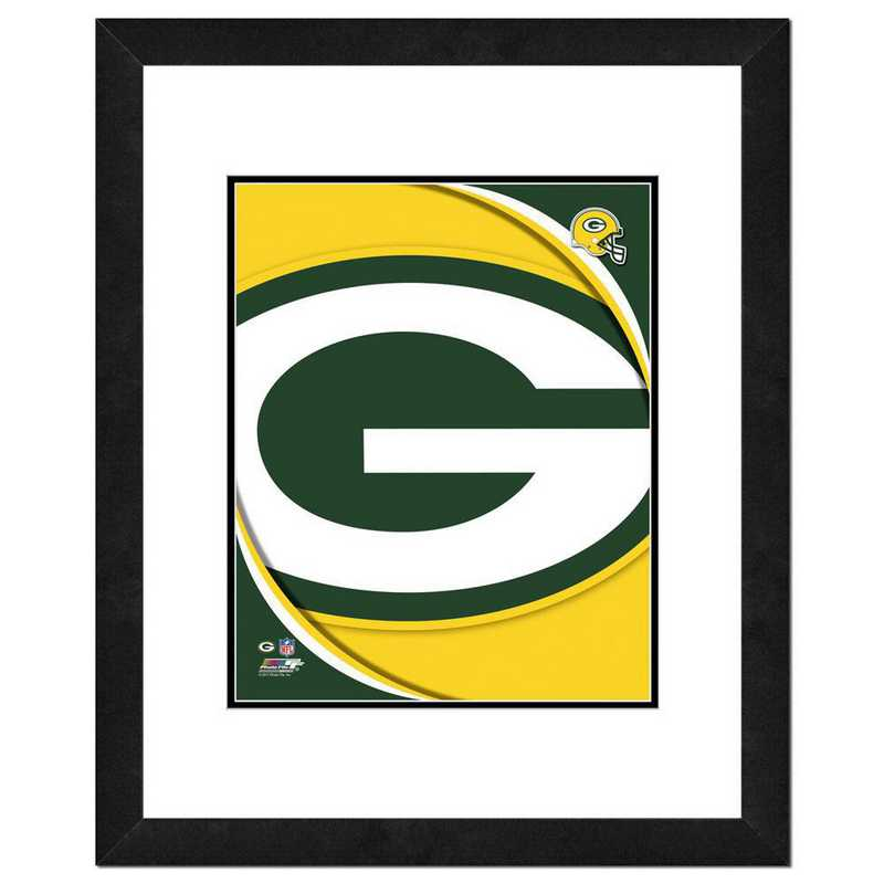 AANR076-FH16x20: PF Green Bay Packers Logo Photography, 18x22