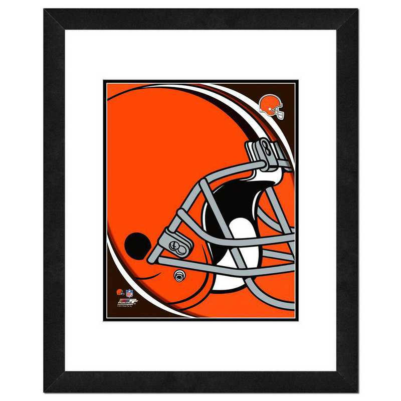 AANU226-FH16x20: PF Cleveland Browns Team Logo Photography, 18x22