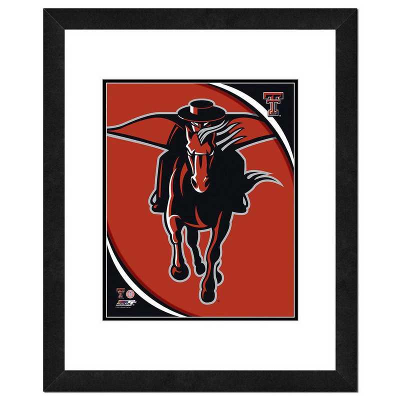AAOJ217-FH16x20: PF Texas Tech University Red Raiders Team Logo, 18x22