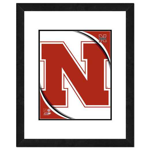 AAOK075-FH16x20: PF University of Nebraska Cornhuskers Team Logo, 18x22