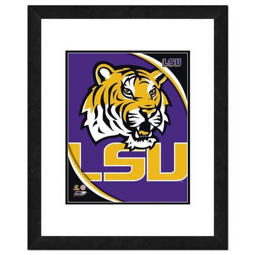 AAOK078-FH16x20: PF LSU Tigers Team Logo, 18x22