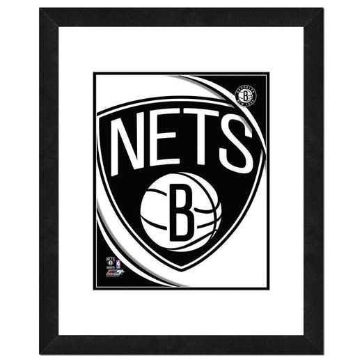 AAOV080-FH16x20: PF Brooklyn Nets Logo Photography, 18x22