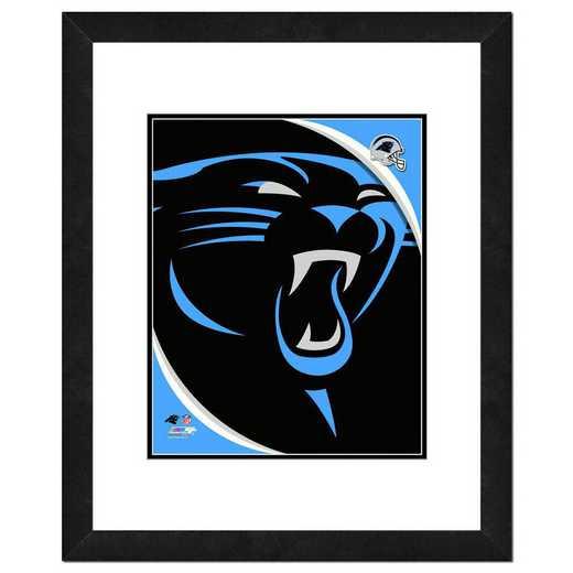 AAPC051-FH16x20: PF Carolina Panthers Logo Photography, 18x22