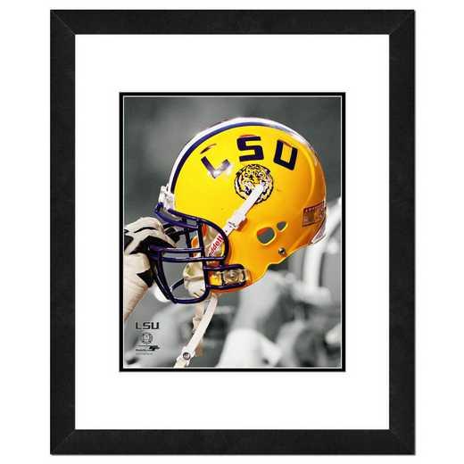 AAPL208-FH16x20: PF LSU Tigers Helmet Spotlight, 18x22