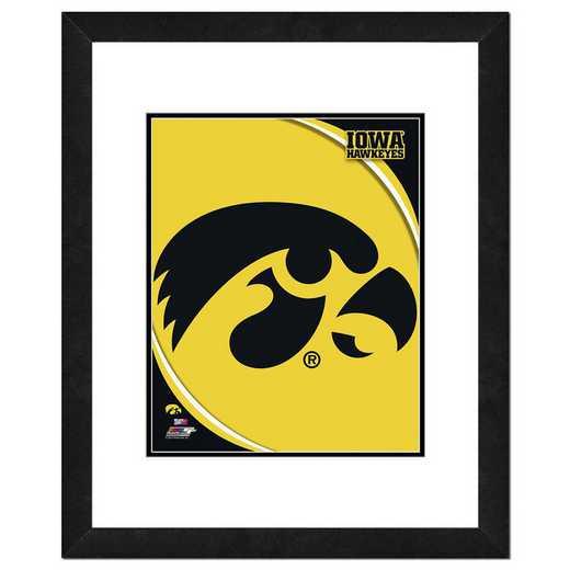 AAQH066-FH16x20: PF University of Iowa Hawkeyes Logo, 18x22