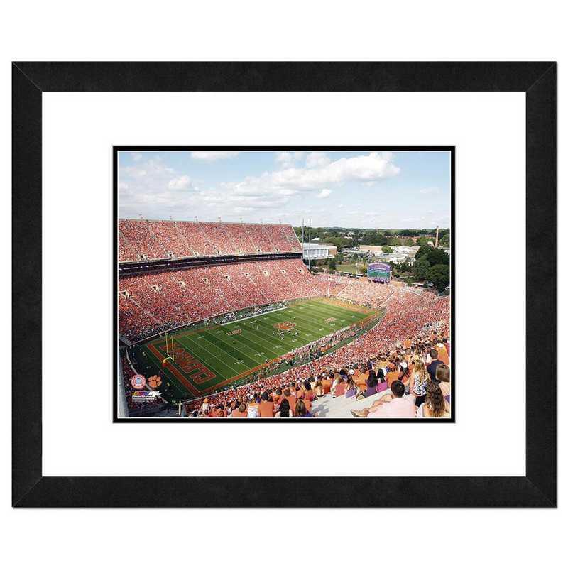AAQK098-FH16x20: PF Memorial Stadium Clemson University Tigers, 18x22