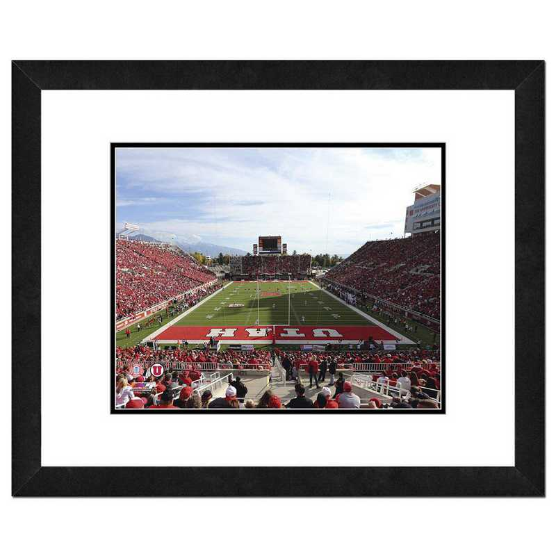 AAQK105-FH16x20: PF Rice-Eccles Stadium University of Utah Utes, 18x22