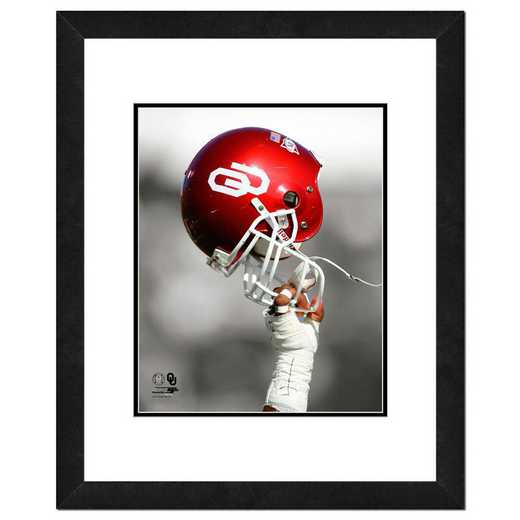 AAQY072-FH16x20: PF University of Oklahoma Sooners Helmet Spotlight, 18x22