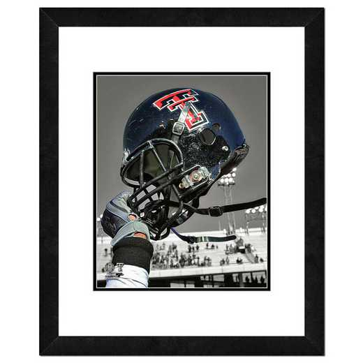 AARM165-FH16x20: PF Texas Tech University Red Raiders Helmet Spotlight, 18x22