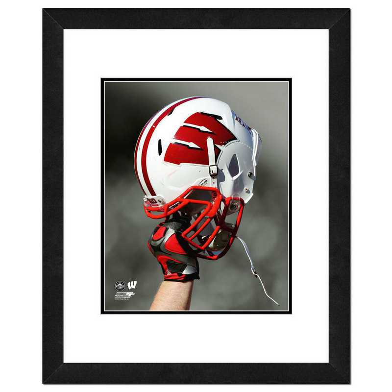 AARM169-FH16x20: PF University of Wisconsin Badgers Helmet Spotlight, 18x22