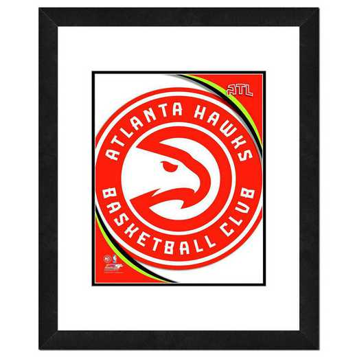 AASE011-FH16x20: PF Atlanta Hawks Logo Photography, 18x22