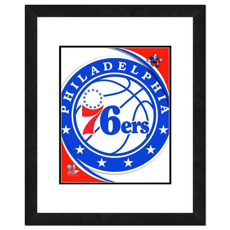 AASE136-FH16x20: PF Philadelphia 76ers Logo Photography, 18x22