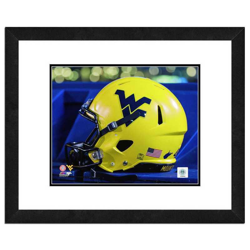 AASF233-FH16x20: PF West Virginia Mountaineers Helmet, 18x22