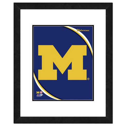 AATH212-FH16x20: PF University of Michigan Wolverines Team Logo, 18x22