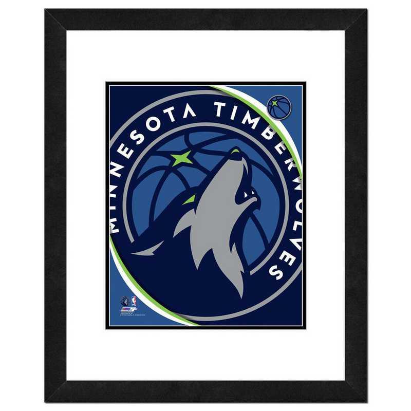 AAVG202-FH16x20: PF Minnesota Timberwolves Logo Photography, 18x22