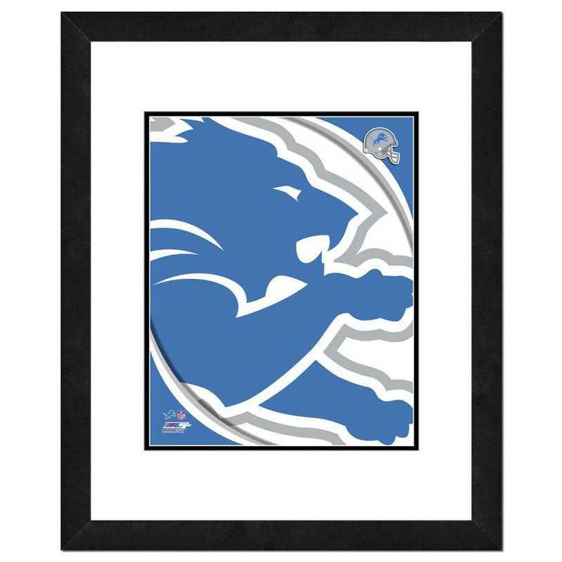 AAVL242-FH16x20: PF Detroit Lions Team Logo Photography, 18x22