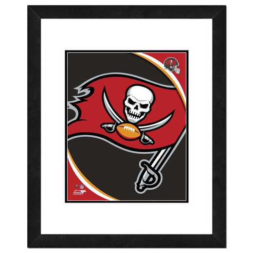AAVL243-FH16x20: PF Tampa Bay Buccaneers Logo Photography, 18x22