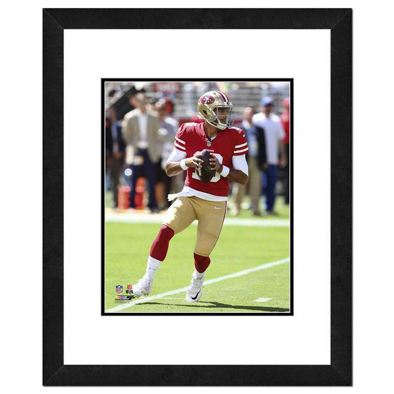 AAVO084-FH16x20: PF Jimmy Garoppolo Action Photography, 18x22