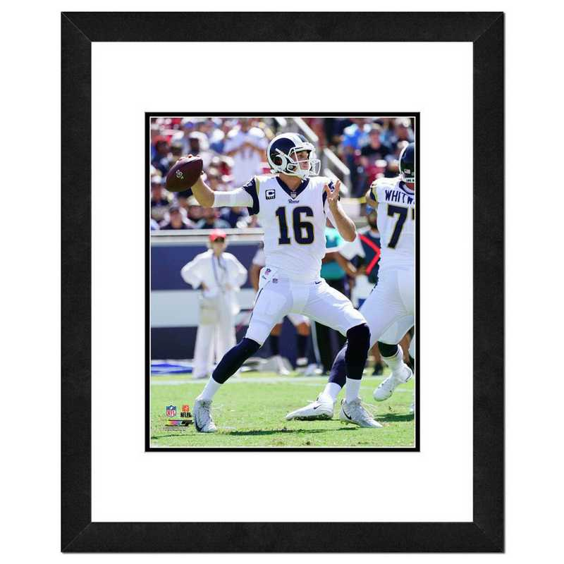 AAVP129-FH16x20: PF Jared Goff Action Photography, 18x22