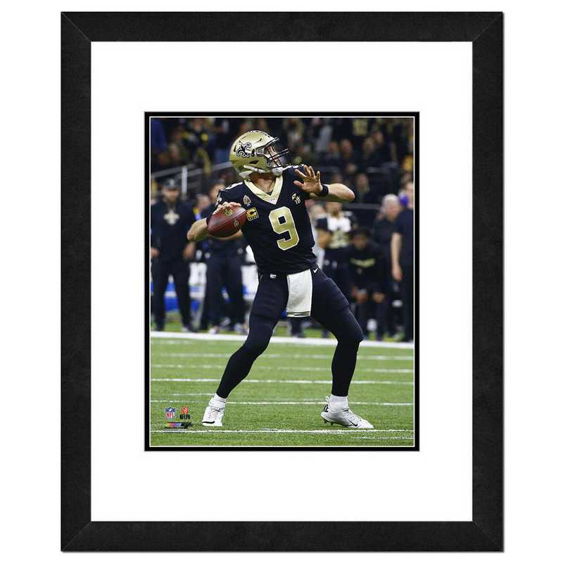 AAVY136-FH16x20: PF Drew Brees Action Photography, 18x22