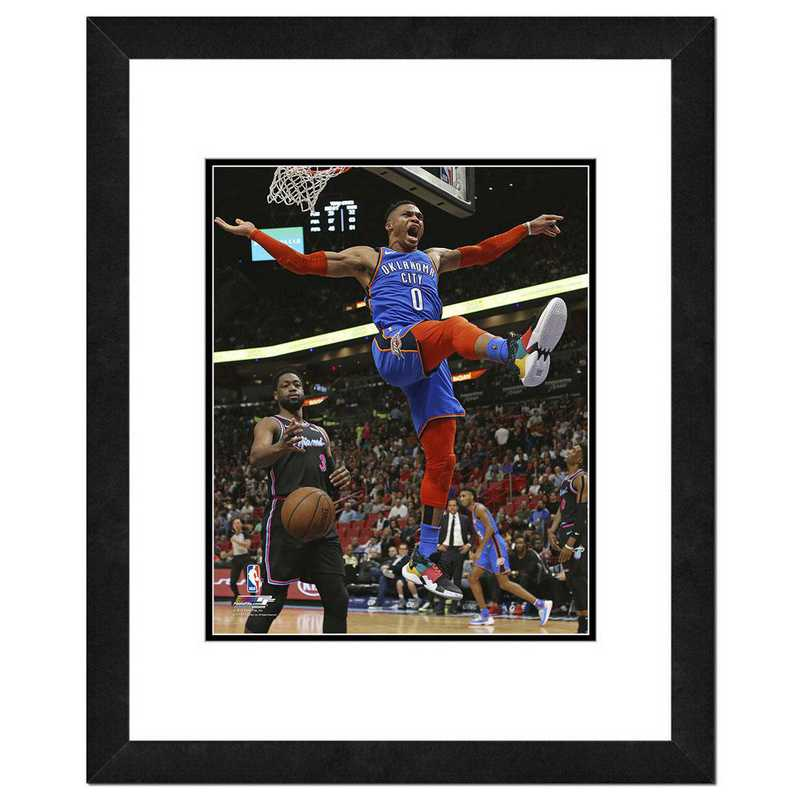 AAWD044-FH16X20: PF Russell WestBrook Action Photography, 18x22