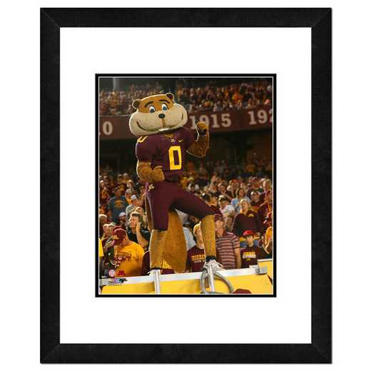 AATO087-FH20x24: PF Goldy the Gopher Minnesota Golden Gophers Mascot- 22x26