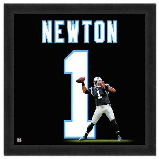 "AAPS201-FG13x13: Cam Newton- Panthers UNIFRAME 20"" x 20"""