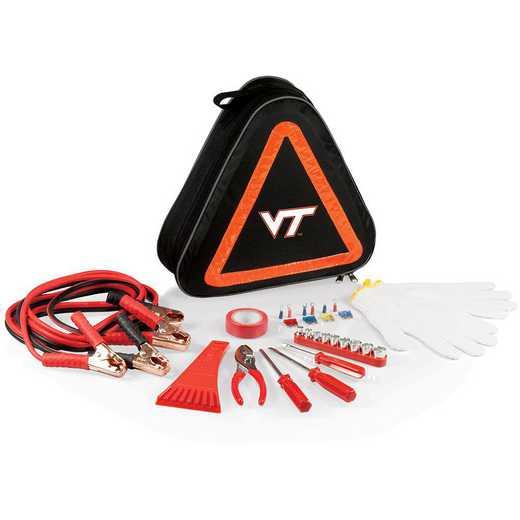 699-00-179-604-0: Virginia Tech Hokies - Roadside Emergency Kit