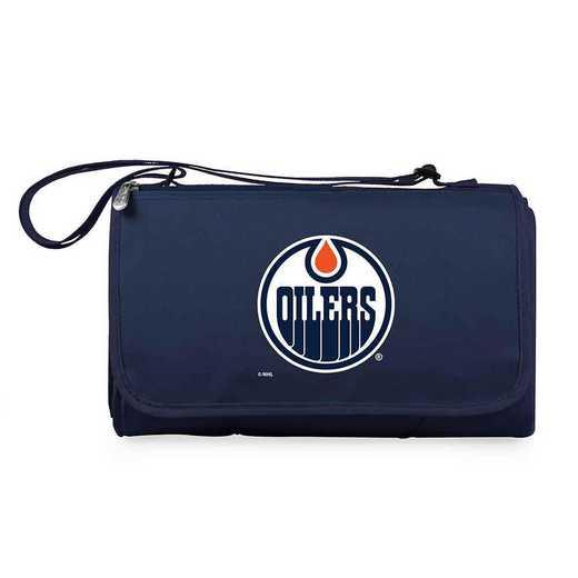 820-00-138-124-10: Edmonton Oilers - 'Blnkt Tote' (Nvy)